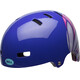 Bell Span Bike Helmet Children pink/purple